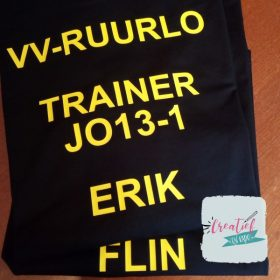 Shirts VV Ruurlo JO13-1 trainer leider