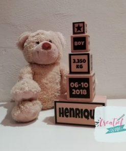 geboorte toren hout, Henrique
