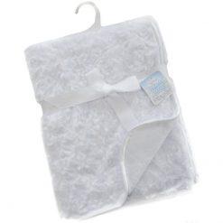 baby deken roosjes wit te bedrukken met naam