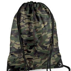camouflage gymtas te bedrukken met naam