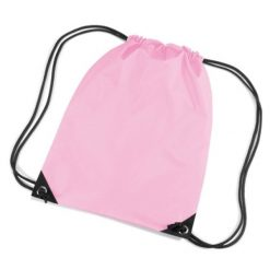 gymtas met naam, gymtas licht roze