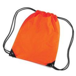gymtas met naam, gymtas oranje