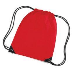 gymtas rood, gymtas met naam