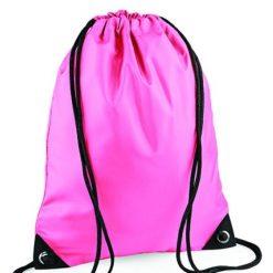 gymtas roze, gymtas met naam