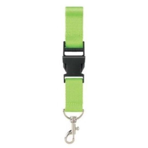 keycord fel groen blanco