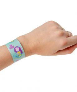 zeemeermin klaparmband om arm