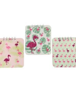 notitieboekje flamingo
