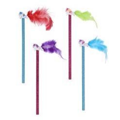 glitter potlood eenhoorn met gum topper