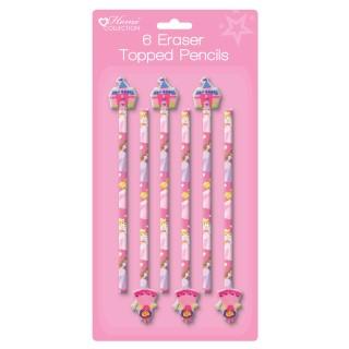 prinsessen potlood met figuren gum