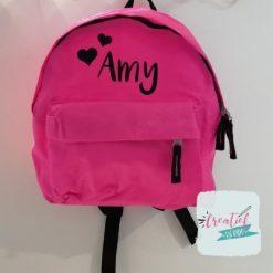 rugtas roze Amy