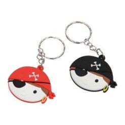 piratenhoofd sleutelhanger