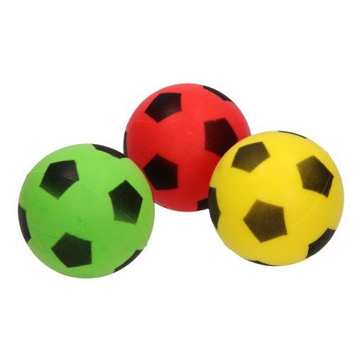 voetbal stuiterbal in verschillende kleuren