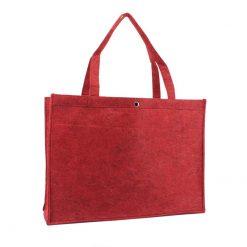 vilten tas rood XL