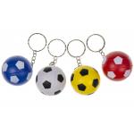 voetbal sleutelhanger gekleurd, voetbal kleur, voetbal traktatie