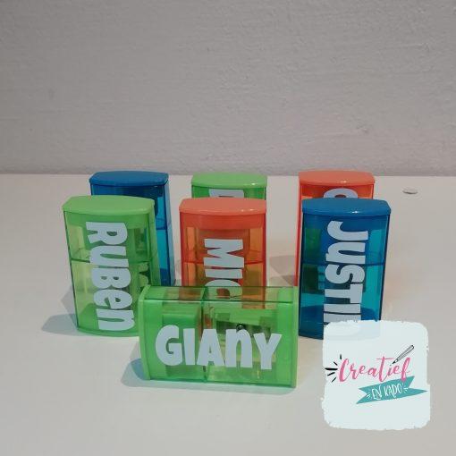 puntenslijper met naam Giany