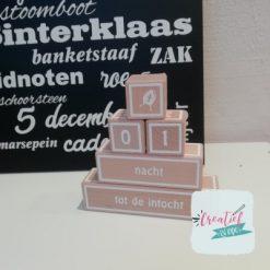 aftelblokken Sinterklaas