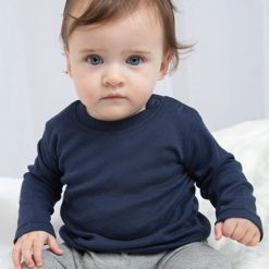 baby shirt lange mouw