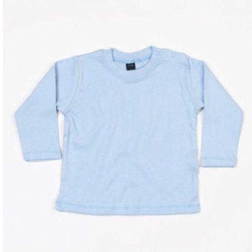 baby shirt lange mouw lichtblauw