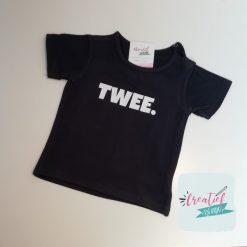 baby shirt korte mouw navy twee