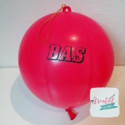 boksballon met naam