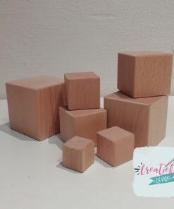houten blokken vierkant