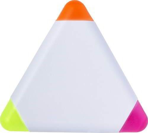 markeerstift driehoek, marker driehoek, marker wit
