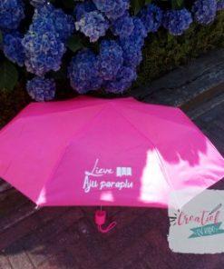 Aju paraplu juf roze