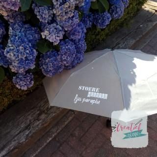 grijze aju paraplu meester