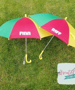 paraplu met naam kind