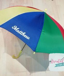 paraplu kind met naam
