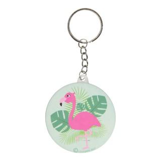 flamingo sleutelhanger
