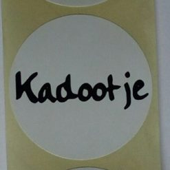 sticker kadootje