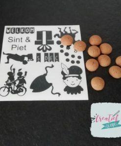 DIY Sinterklaas stickers