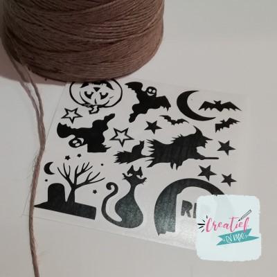 DIY sticker Halloween
