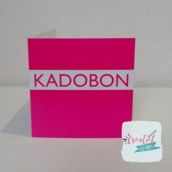 kadobon Creatief en Kado