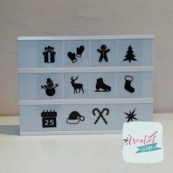 kerstafbeeldingen lightbox
