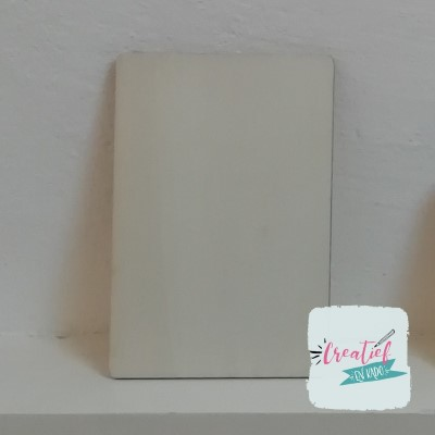 houten kaart blanco