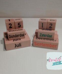 houten kalender, eeuwigdurende kalender