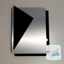 huisnaambordje driehoek XL