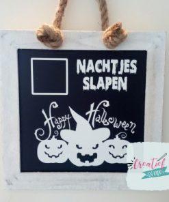 krijtbord Happy Halloween