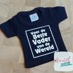 mini shirt navy beste vader van de wereld