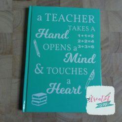 notitieboek a teacher mint