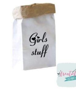 paperbag Girls stuff