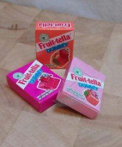 fruittella dummy, snoep traktatie,
