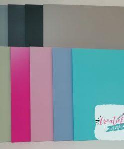 kleuren tekstborden