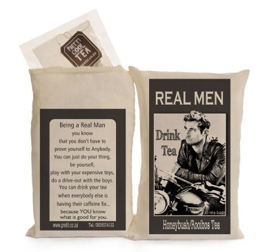 Thee Sakkie, real men drink tea