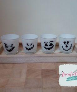 theelichtjes halloween wit setje