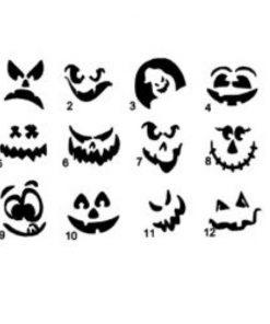 keuze theelichtjes halloween