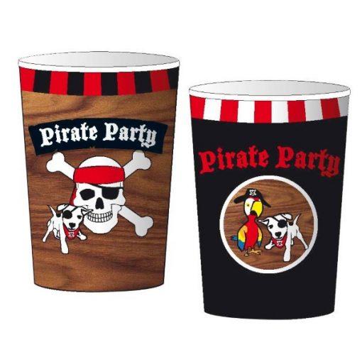piraten party beker, traktatie beker