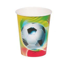 Voetbal feest beker, traktatie beker